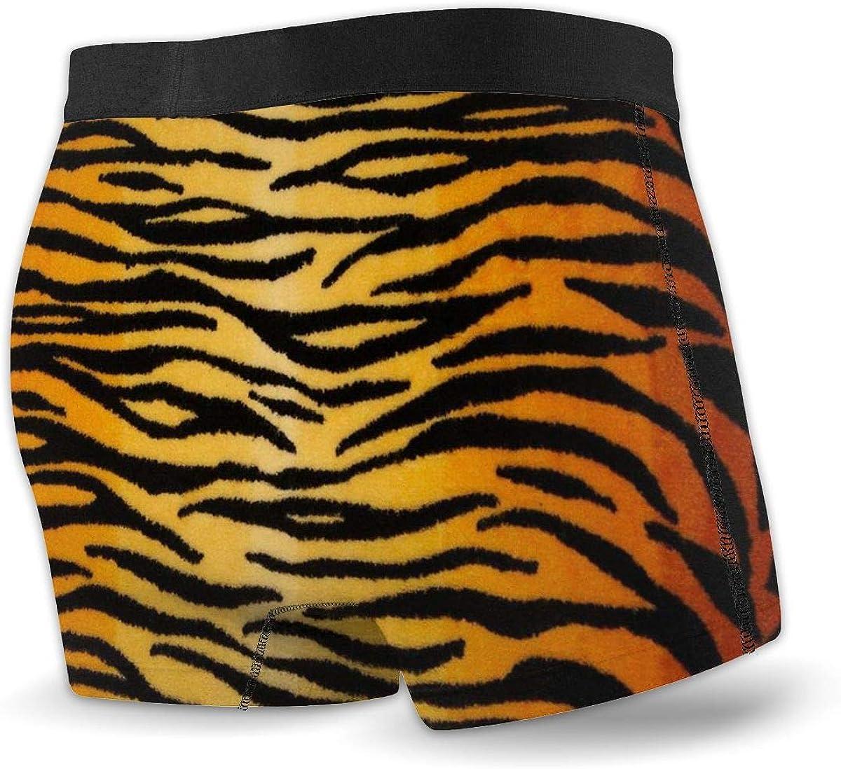 Cool Mens Leopard Print Underwear Boxer Trunks Briefs G-string Shorts Underpants