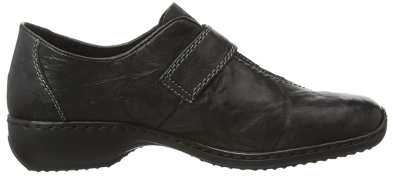 Rieker Damen L3870-00 Slipper, Schwarz, 36 EU Schwarz (schwarz (schwarz Schwarz 00) b259f8