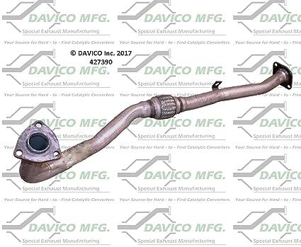 Amazon com: Davico 427390 Prebent Exhaust: Automotive