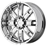 "Helo HE835 Chrome Wheel - (17x8""/6x5.5"")"