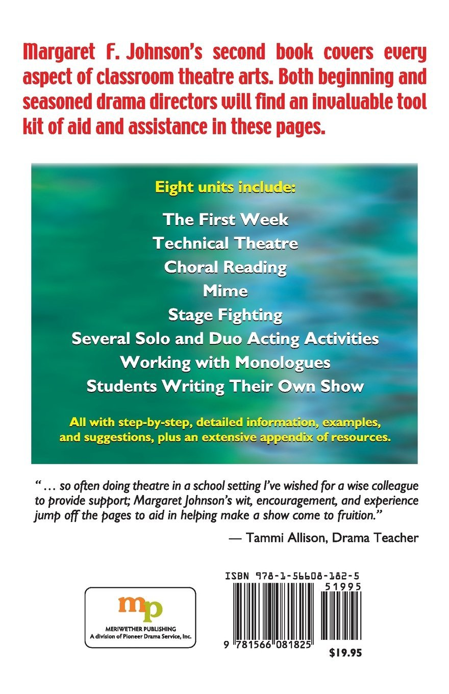 Amazon.com: The Drama Teacher's Survival Guide #2: Activities, exercises,  and techniques for the theatre classroom (9781566081825): Margaret F.  Johnson: ...