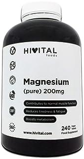 Magnesio puro 200 mg procedente de Citrato de Magnesio | 240 comprimidos (Suministro…