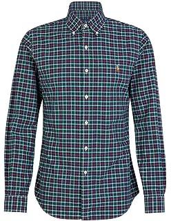 Polo Ralph Lauren Camisa Life Guard Azul Hombre XL Marino: Amazon ...