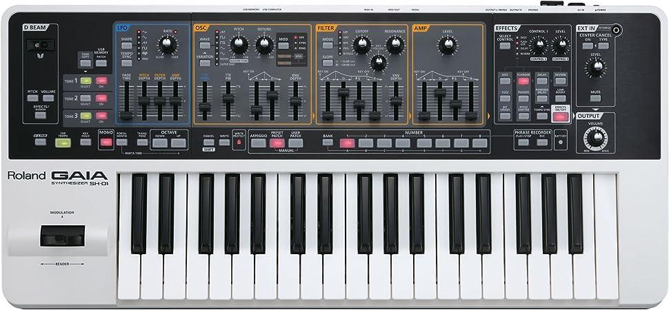 Roland GAIA SH-01 de 37 teclas sintetizador analógico virtual ...