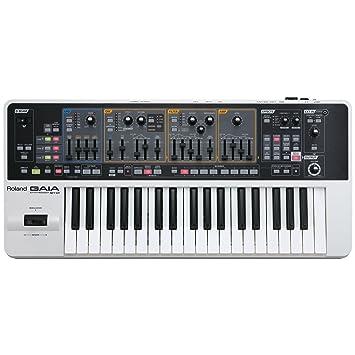 Roland GAIA SH-01 de 37 teclas sintetizador analógico virtual con el Oficial de guardapolvos Marca: Amazon.es: Instrumentos musicales