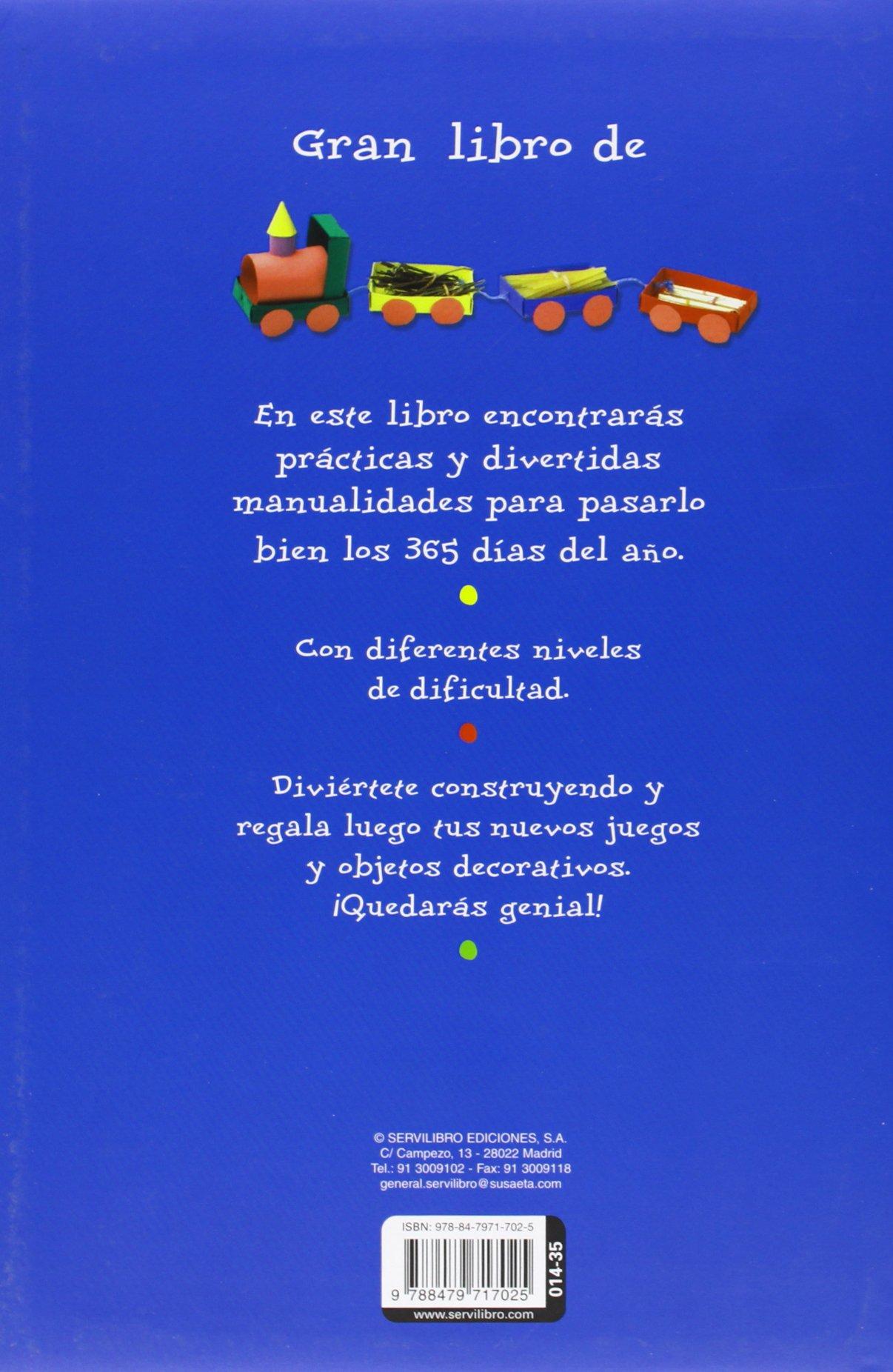 Manualidades para 365 Días (Gran libro de): Amazon.es: Servilibro ...
