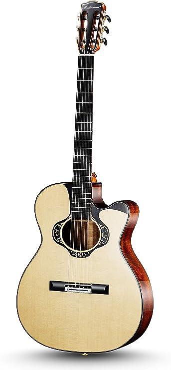 Merida extrema Sobrepasar aduana de la Guitarra de Nylon OM ...