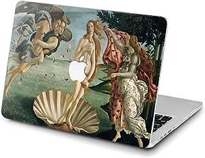 Lex Altern Hard Case for Apple MacBook Pro 15 Air 13 inch Mac Retina 12 11 2020 2019 2018 2017 2016 The Birth of Venus Art Women Girly Botticelli Protective Painting Laptop Cover Design Antique