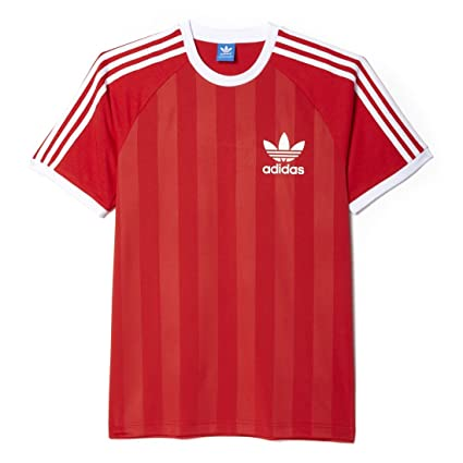 Adidas Camiseta California para Hombre, Hombre, T-Shirt California, Lush Red S16