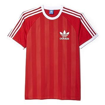 Adidas Camiseta California para Hombre, Hombre, T-Shirt California, Lush Red S16-St, Medium: Amazon.es: Deportes y aire libre