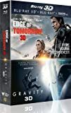 Coffret 2 films : edge of tomorrow ; gravity