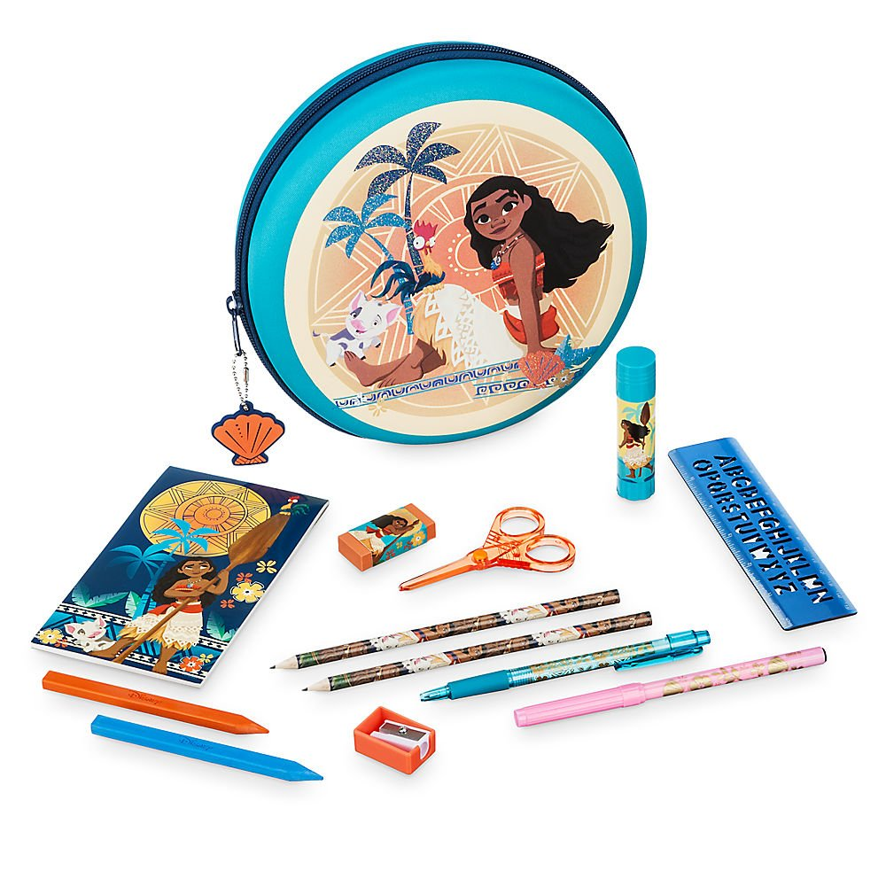 Disney Moana Stationery Kit by Disney