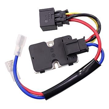 Unidad de control, regulador, resistencia etapa final climatizador calefacción/ ventilador MERCEDES CLASE S