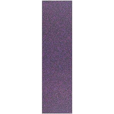 Black Diamond 4.5 x 16.5 inch Sheet of Scooter Glitter Grip Tape - Sparkling Purple : Sports & Outdoors
