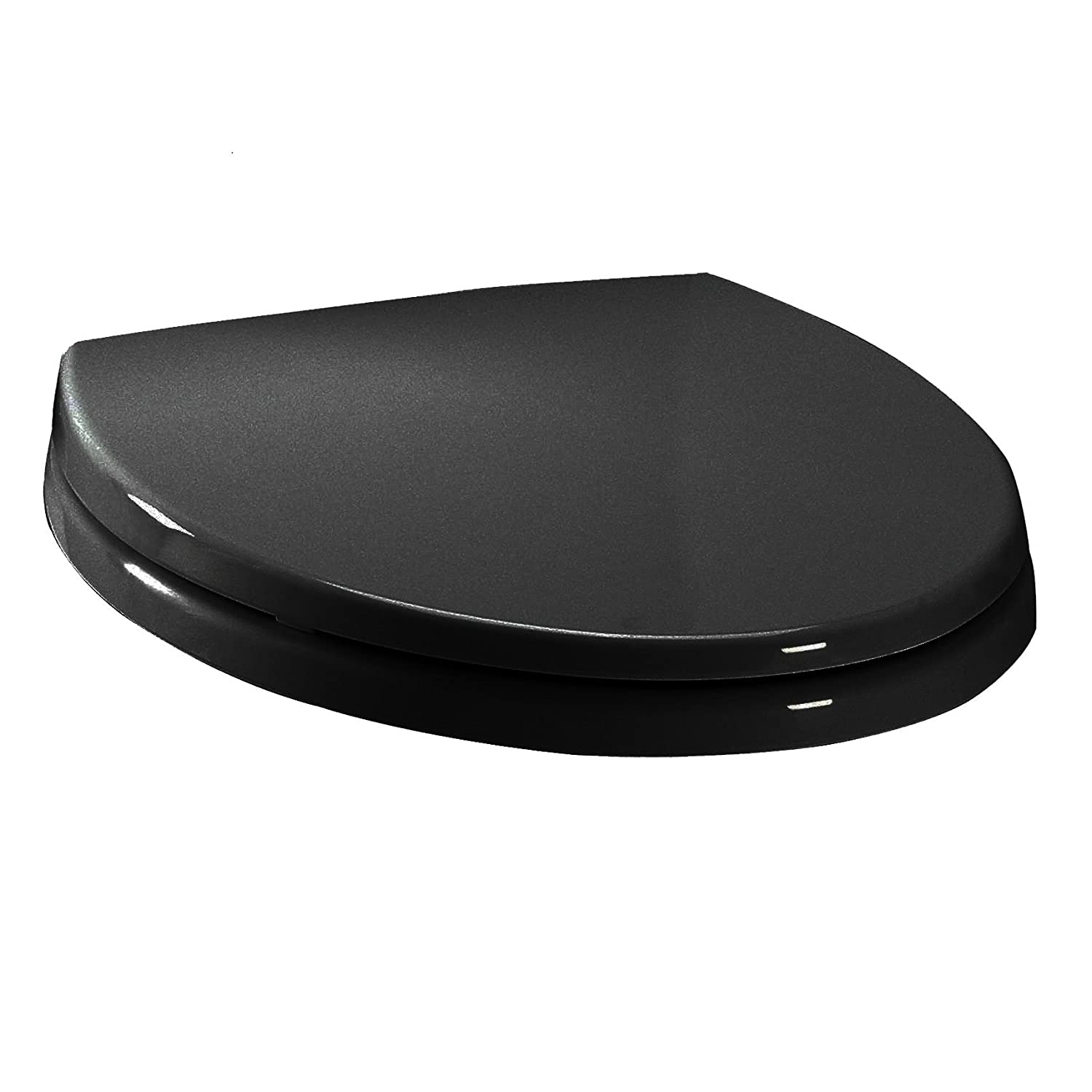 TOTO SS Transitional SoftClose Elongated Toilet Seat Sedona - Black elongated toilet seat cover