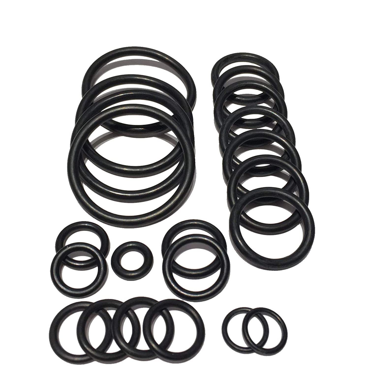 Cooling system radiator hose O ring set For BMW E60N N54 Engine