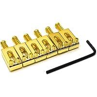 SAPHUE Guitar Bridge Saddle with Spring Screws Wrench Tremolo for Fender Strat Stratocaster Tele Telecaster Electric…