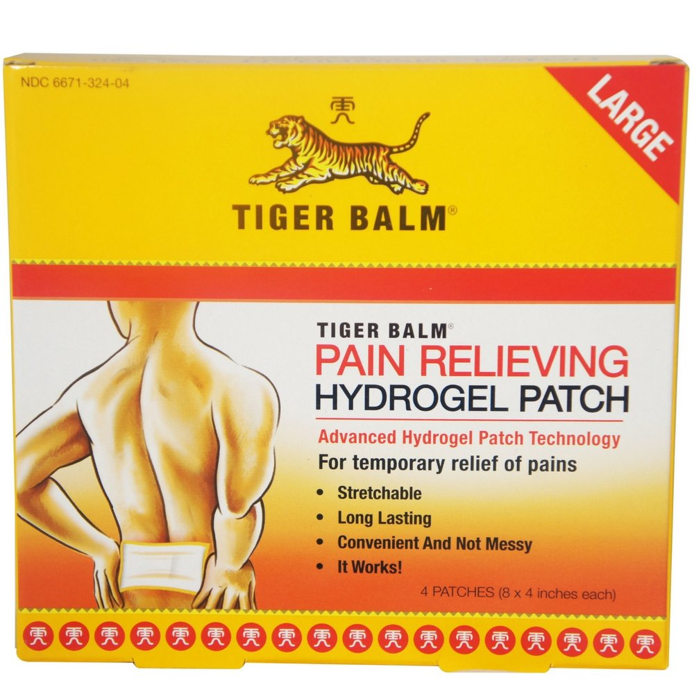 Tiger Balm Patch Large 4 Each ( pack of 2)