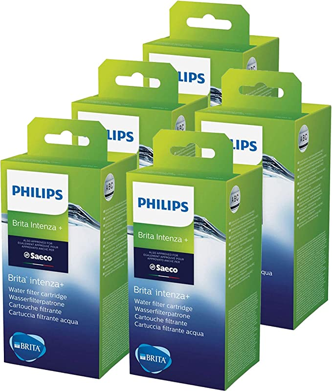 Philips Saeco Brita Produced INTENZA and Maintenance Water Filter Cartridge