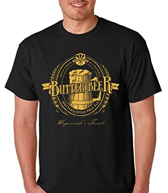 Raw T-Shirts Witchs Brew All Natural Butterscotch Pale Ale - Funny Butter Beer Premium