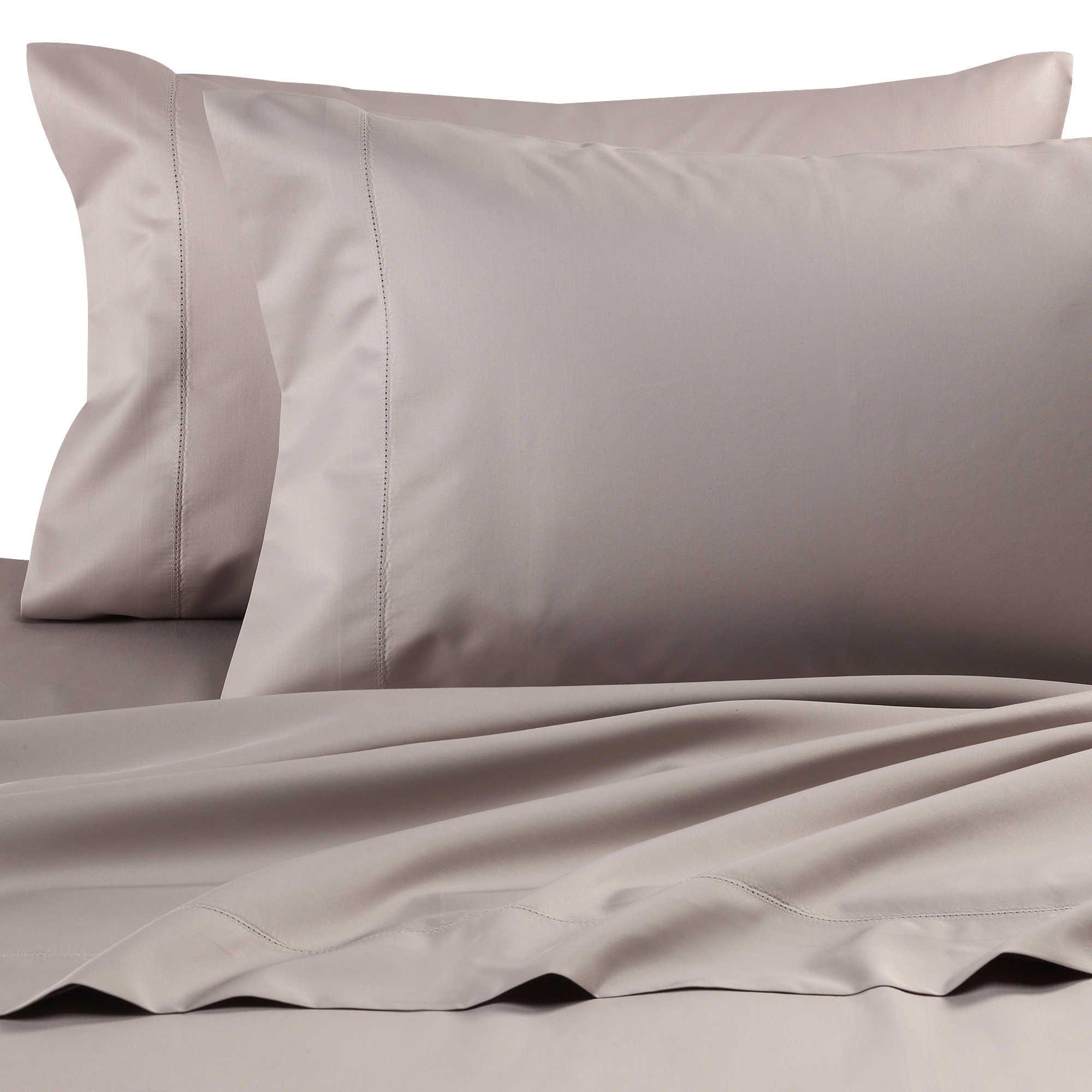 Wamsutta Dream Zone Grey Ashe King Sheet Set, 750 thread count