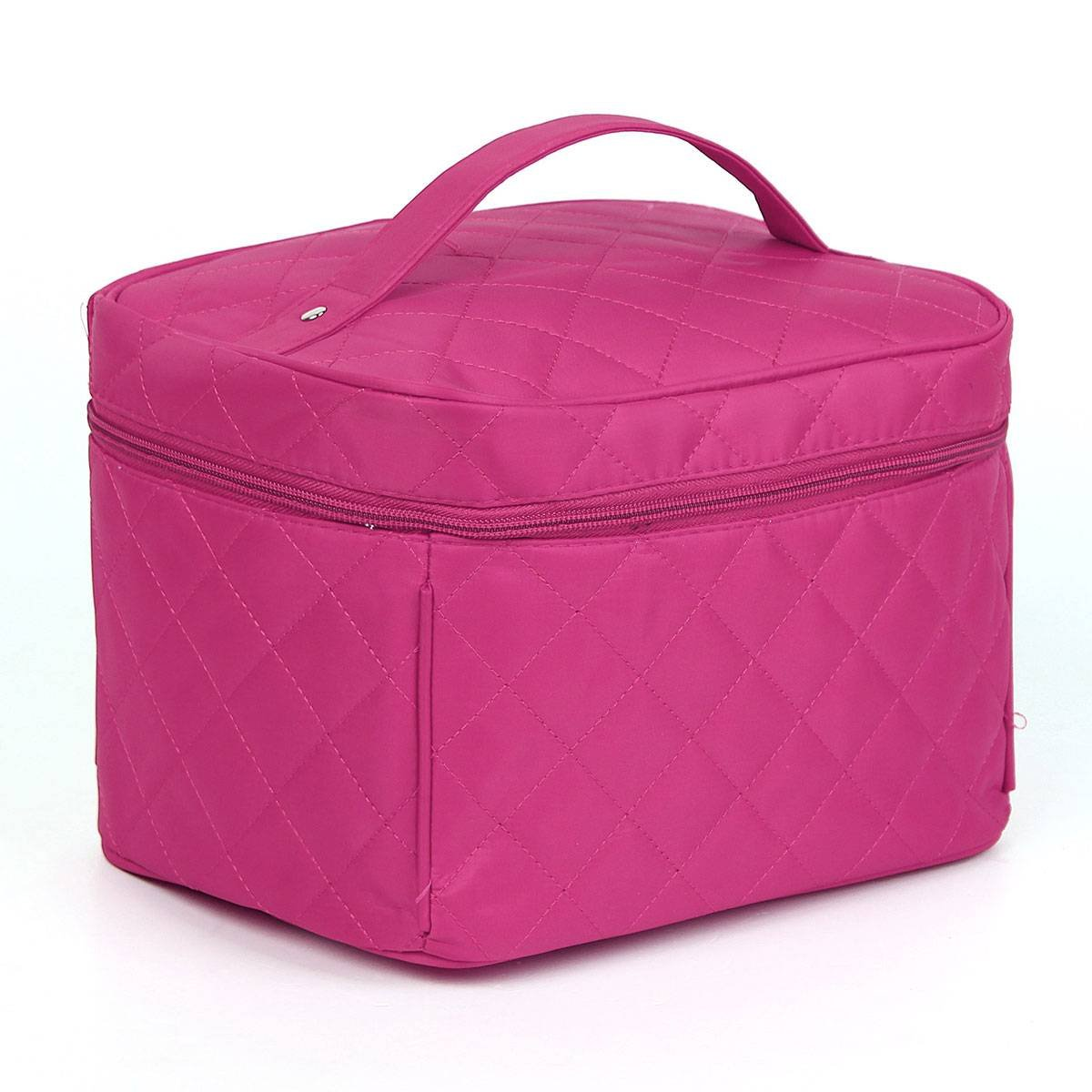 KINGSO Rose Red Lady Makeup Organiser Cosmetic Container Pouch Case Box Large Capacity Portable Toiletry Travel Bag Girl KINGSO Co. Ltd