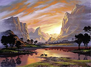 Ravensburger Tranquil Sunset 14833 500 Piece Puzzle for Adults, Every Piece is Unique, Softclick Technology Means Pieces Fit Together Perfectly