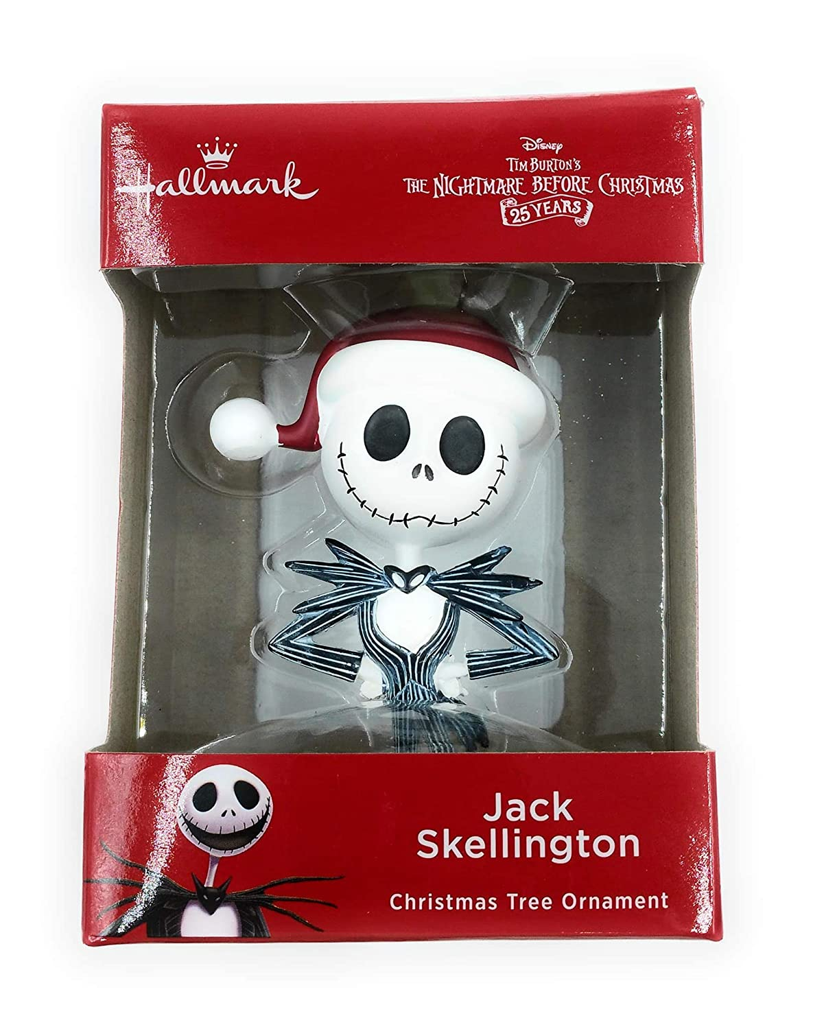 Amazon.com: Hallmark Jack Skellington Christmas Tree Ornament from ...