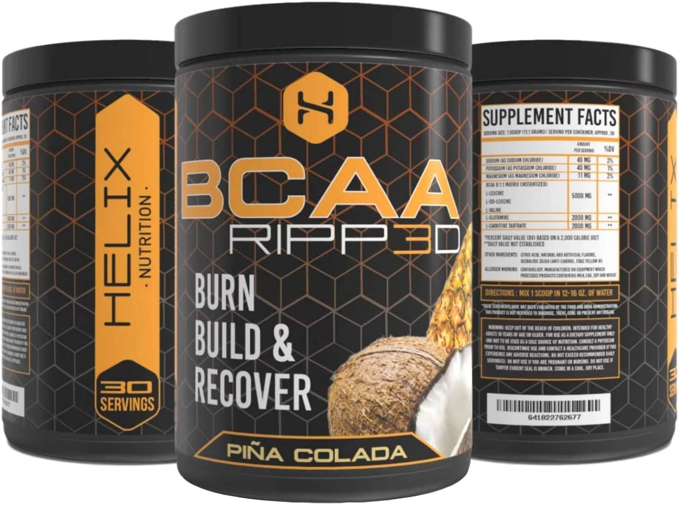BCAA Ripped Amino Energy Electrolytes Supplement Optimum Nutrition That Helps Improve Mood, Boost Exercise Performance, Prevent Muscle Loss and Promote Weight Loss Boosts Metabolism