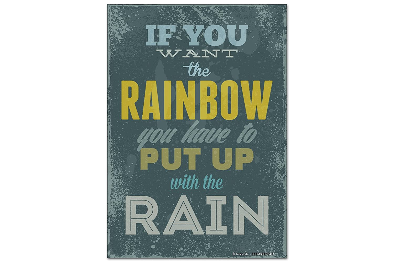 Fridge Magnet Sayings Rainbow