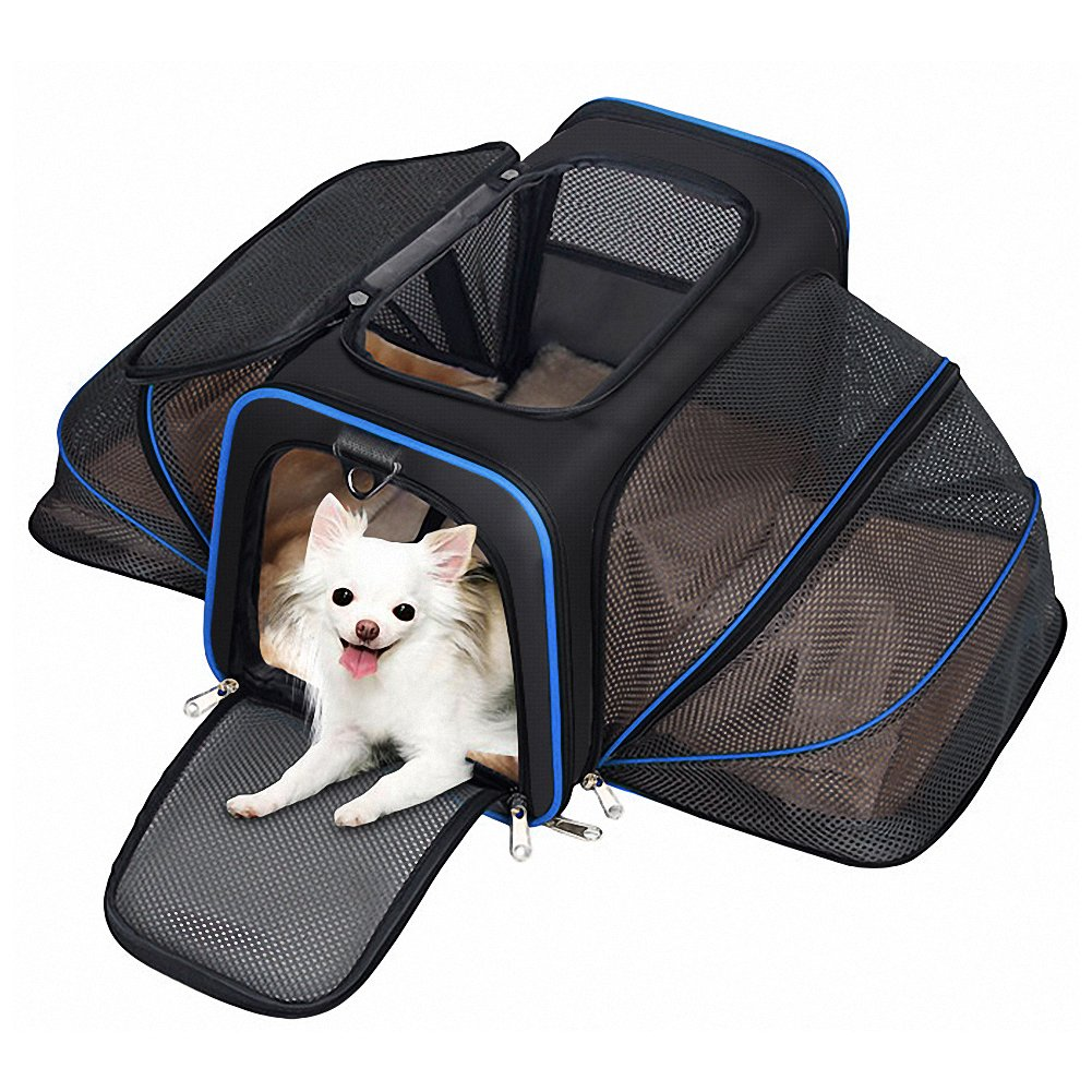 Expandable Pet Carrier For Dogs And Cats Soft Sided Most