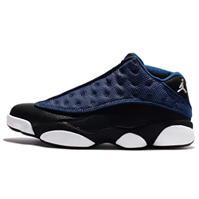 sports shoes 8069e b8125 Nike Herren Air Jordan 13 Retro niedrig tapferen blau Basketball Turnschuhe  310810 407 - tapferen blau