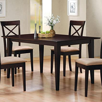Amazoncom Coaster Home Furnishings Monarch Specialties Dining - 36 inch dining table and chairs
