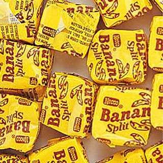 product image for NECCO Yellow Banana Split Candy Chews 1LB Bag