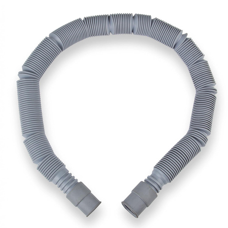 Ablaufschlauch Wasserschlauch 19//22mm 60-200cm ausziehbar Schlauch Waschmaschine