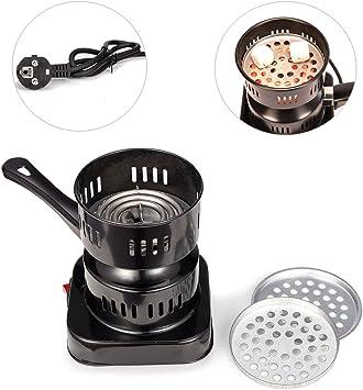 MERITON Cocina Estufa Eléctrica para Shisha Cachimba Carbón ...