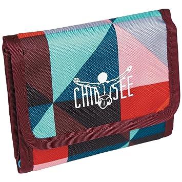 181c8c047320c Chiemsee Geldbörse Portemonnaie Wallet Magic Triangle Red
