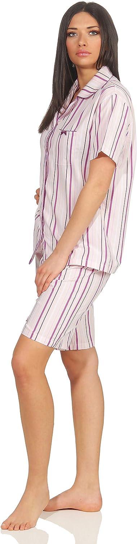 Seidensticker Schlafanzug Pyjama kurz rosa