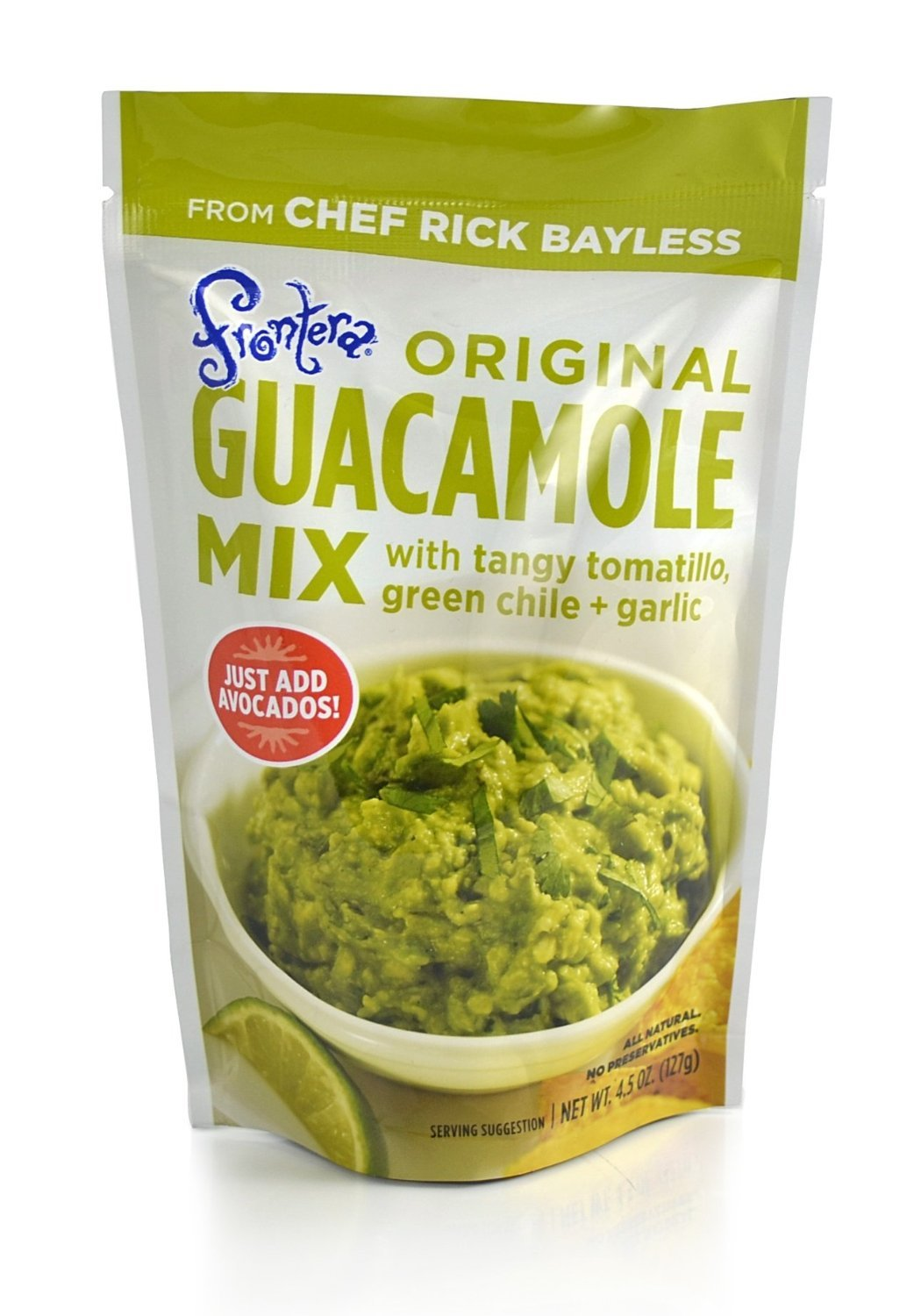 Frontera Foods Guacamole Mix, 4.5 oz by Frontera Foods (Image #1)