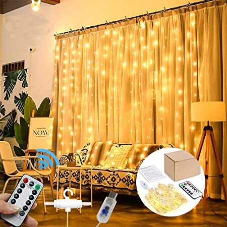 FRINGE CURTAINS 3M x 3M 8 COLOURS WEDDING HOME DECOR FREE DELIVERY