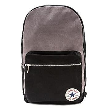 Converse Mochila Core Plus Canvas Backpack, Color Converse Black/Converse Charcoal, tamaño 26 x 45.5 x 12.5 cm, 15 Liter, Volumen Liters 15.0: Amazon.es: ...