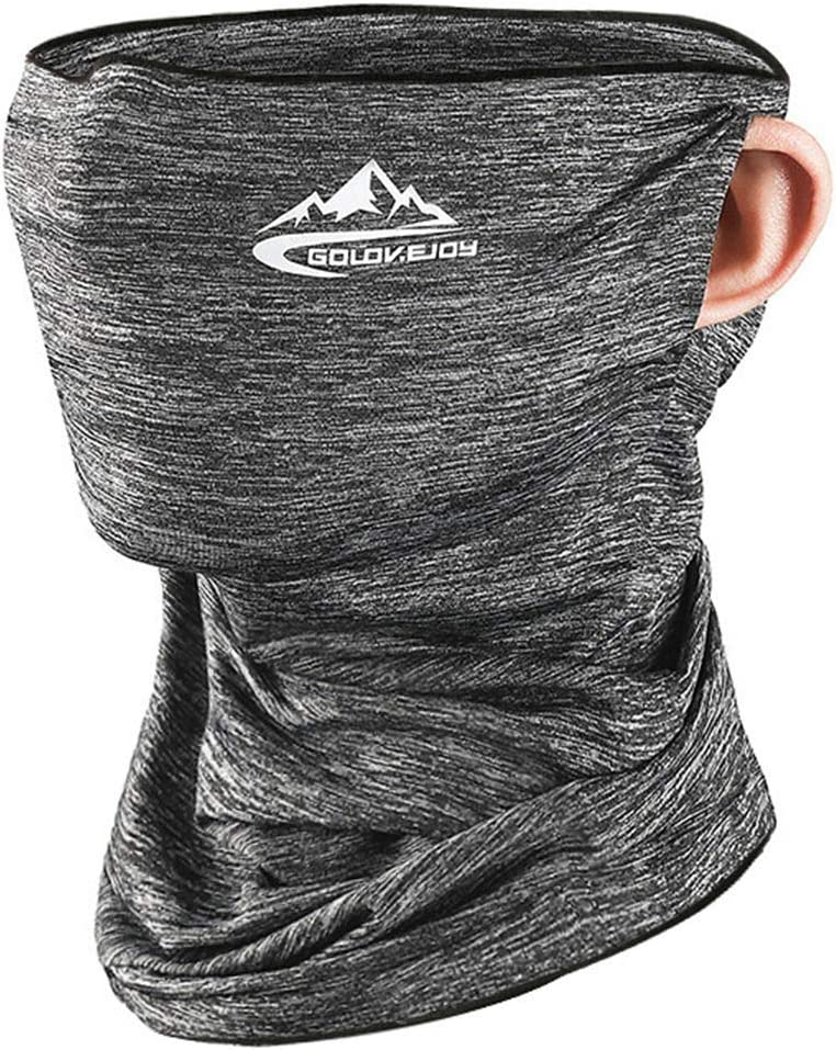 O-Kinee Multifunctional Bandana, Face Covering Bandanas Stretchy Breathable UPF 50+, Cooling Ice Silk Windproof Dustproof, Ideal for Outdoors Bike Motorcycle Running Yoga Running Hiking Cycling