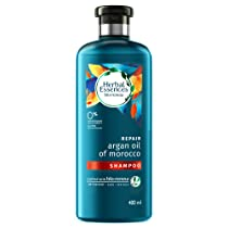 Herbal Essences Argan Oil of Morocco SHAMPOO- For Hair Repair and No Frizz- No Paraben 400 ML (Pack of 2)