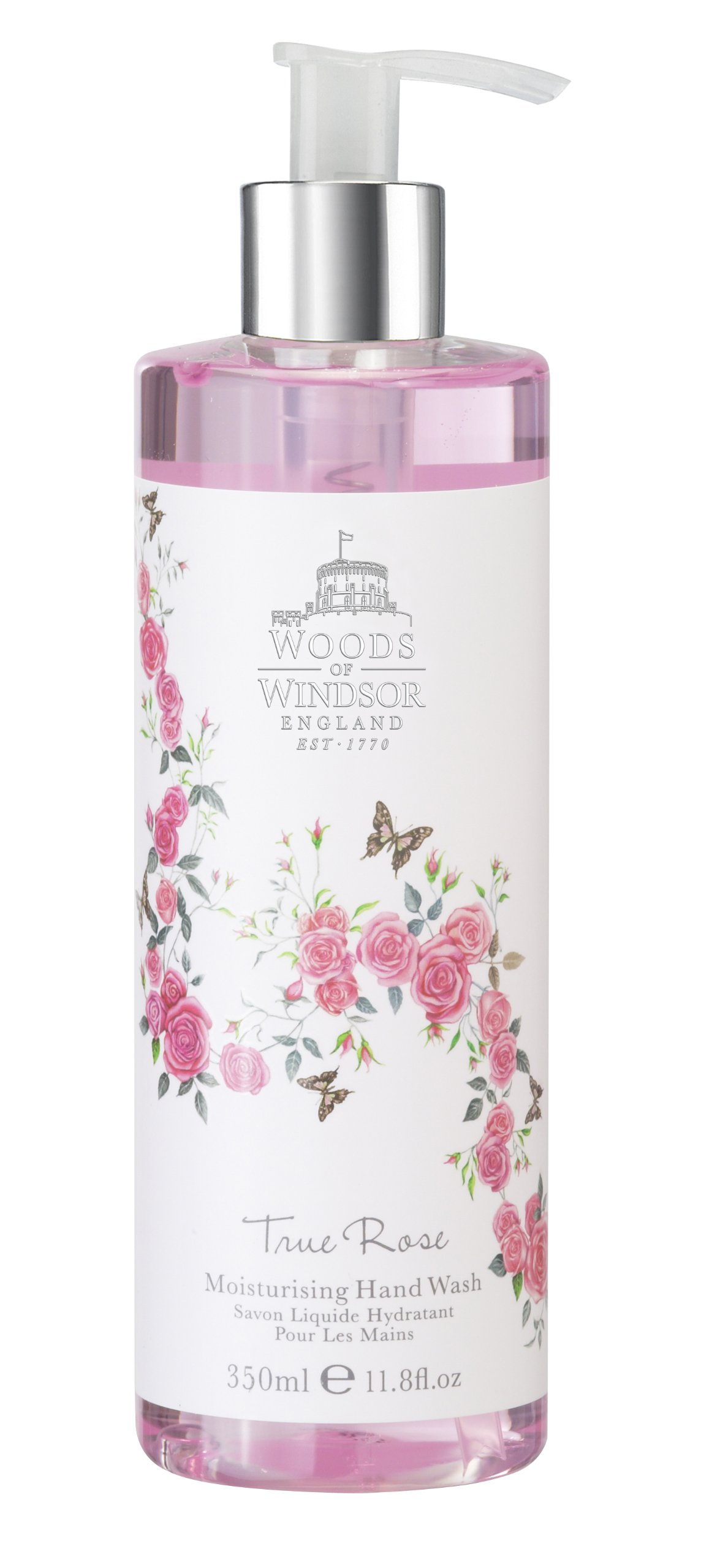Woods of Windsor Hand Wash for Women, True Rose, 11.8 Ounce