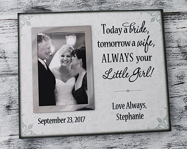 Amazon.com: Today a bride tomorrow a wife always your little girl ...