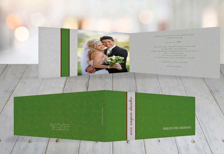 Kartenparadies Danksagung für Hochzeitsgeschenke Dankeskarte Für immer, hochwertige Danksagungskarte Hochzeitsglückwünsche inklusive Umschläge   20 Karten - (Format  215x105 mm) Farbe  MatschgruenDunkel B01MZCC9B0   Outlet Online