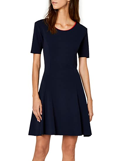 Kleid Tommy Fitflare Jeans Damen Essential 0OPw8nk