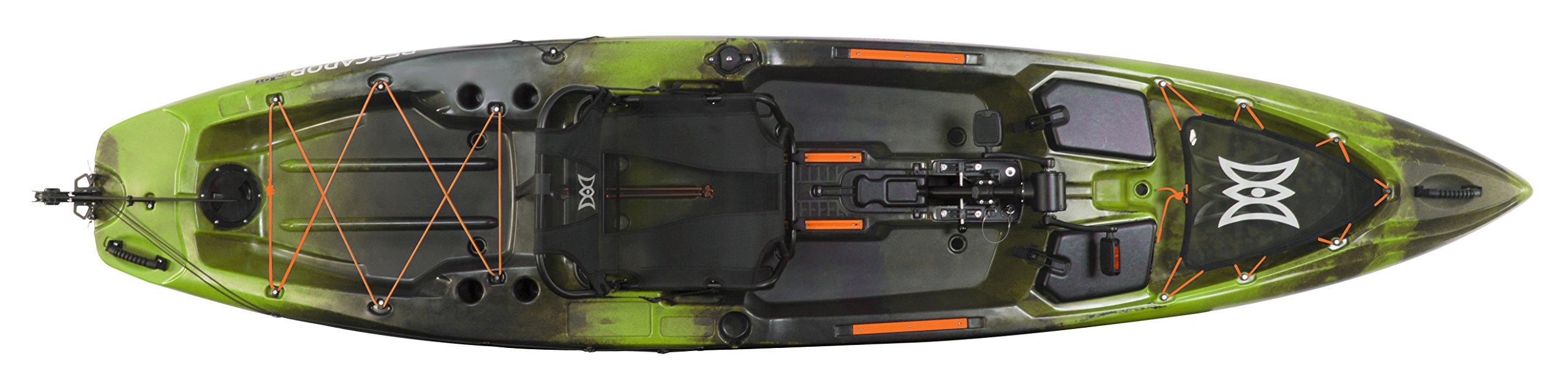 Perception Kayak Pescador Pilot Sit On Top for Fishing by Perception Kayaks