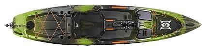 Perception Pescador Pilot 12 | Sit on Top Fishing Kayak | Pedal Drive | Multi-Water Angler Kayak