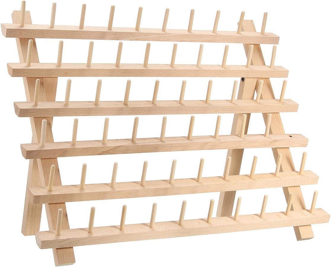 1 St/ück Rack Gewinde Spule St/änder N/ähen Membra Gewinde Rack Holz Halterung